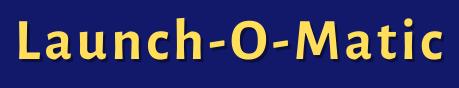 Launch O Matic logo